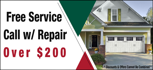 Free Service Call With Repair Over $200